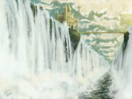 The Waterfall Castle