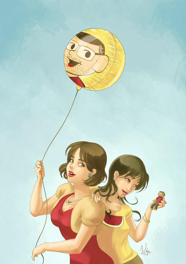 Monica and Sidney Gusman by FernandaNia