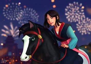 Mulan by FernandaNia