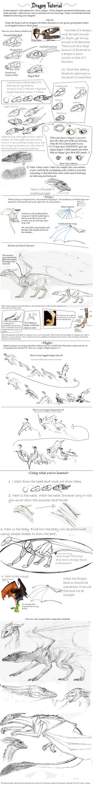Dragon Tutorial by Giddygecko