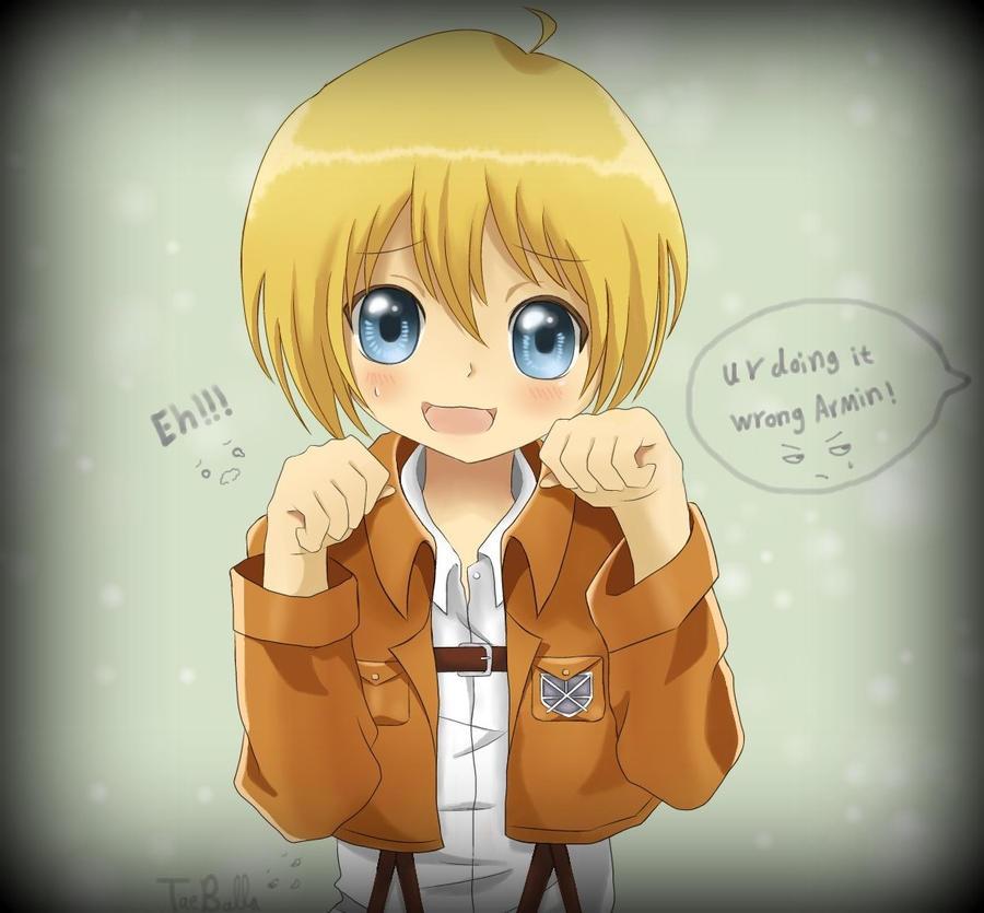 Armin Arlert by TaeBalla05