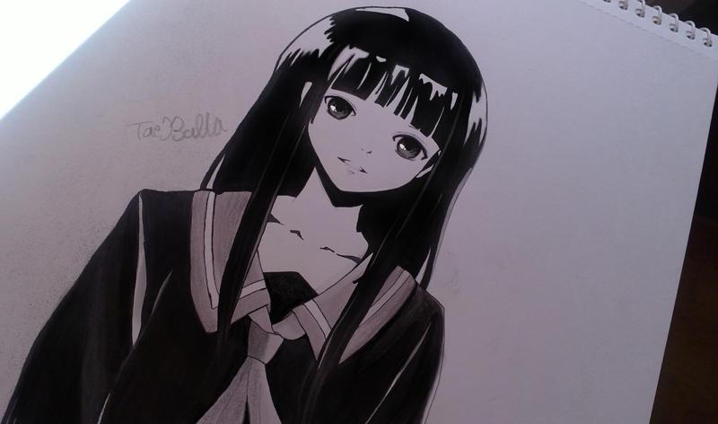 Manga girl practice by TaeBalla05
