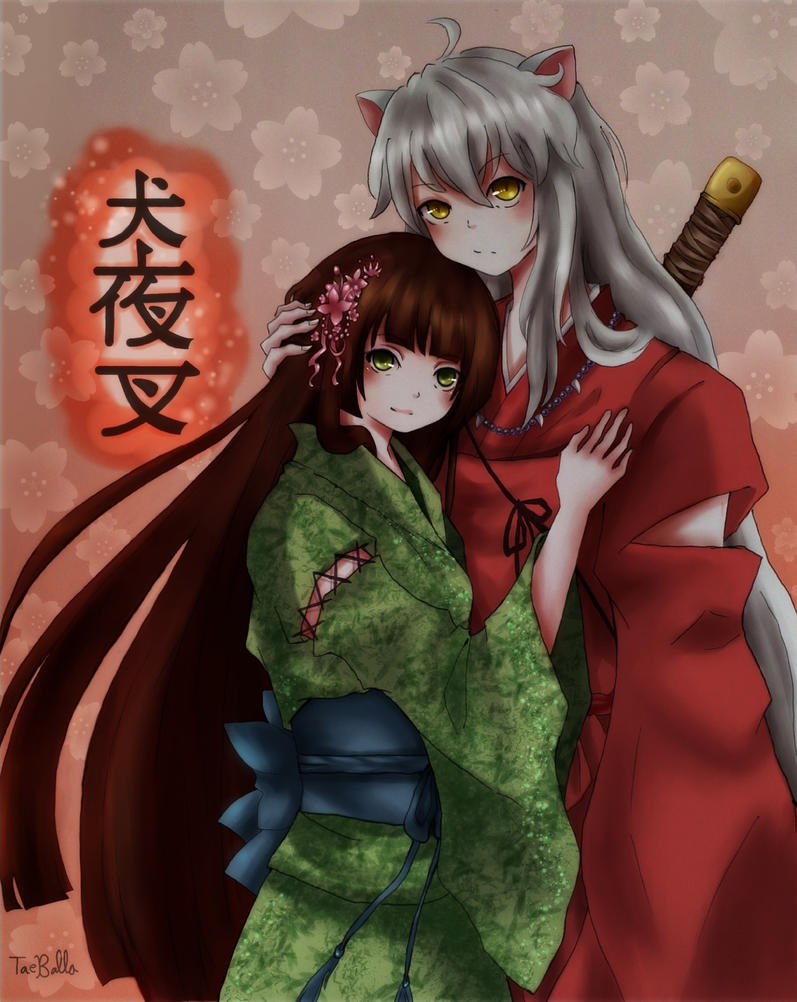 Inuyasha and Seika (Request) by TaeBalla05