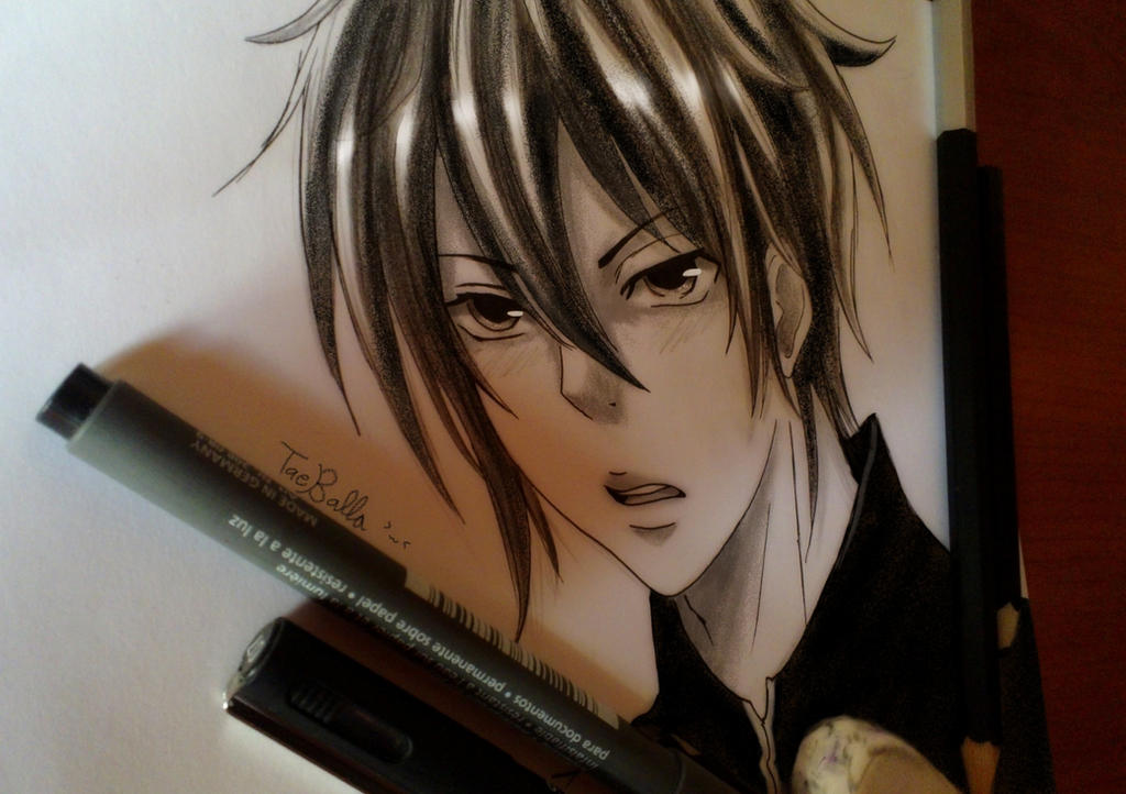 Shou (Manga practice) by TaeBalla05