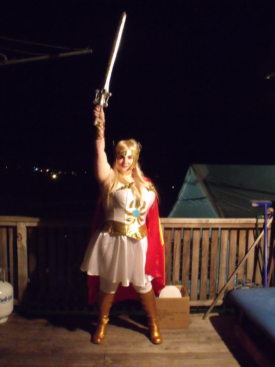 SHE-RA COSTUME by Zara-firethorne
