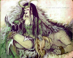 20120812 Lady Loki by gazdowna