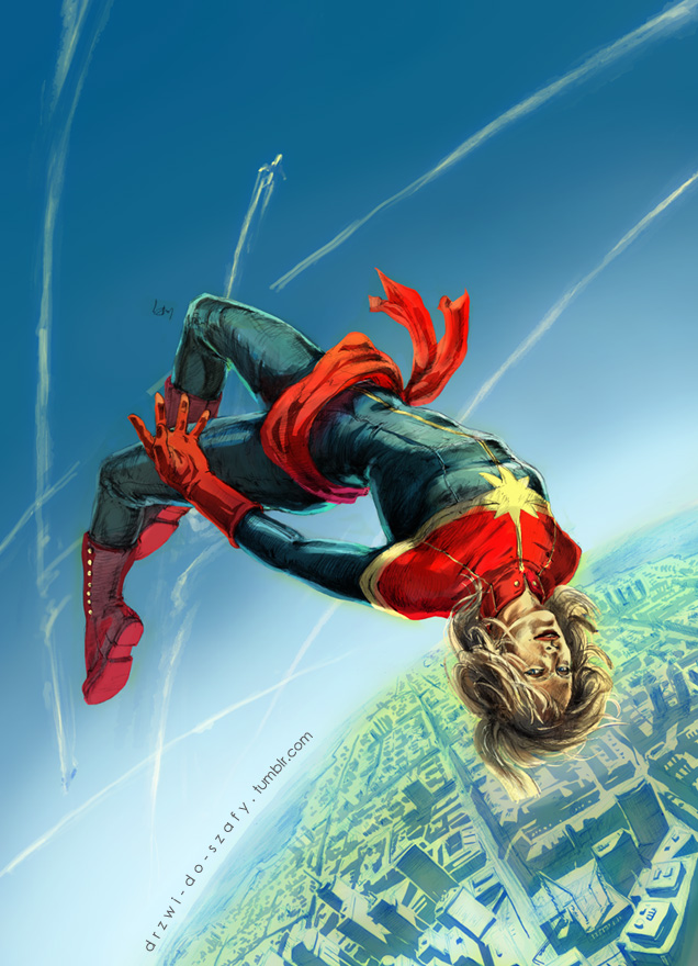 20130221  captain marvel by gazdowna