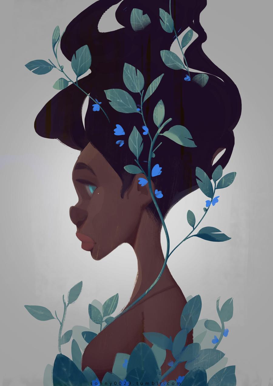 Blue Girl by Sonny0029