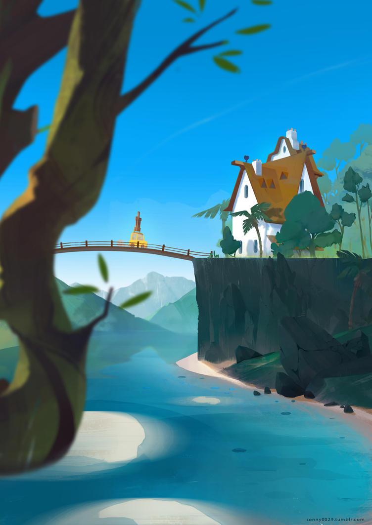 Les vacances chez meme! by Sonny0029