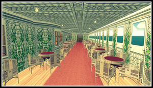 RMS Titanic - Caf Parisien - 2