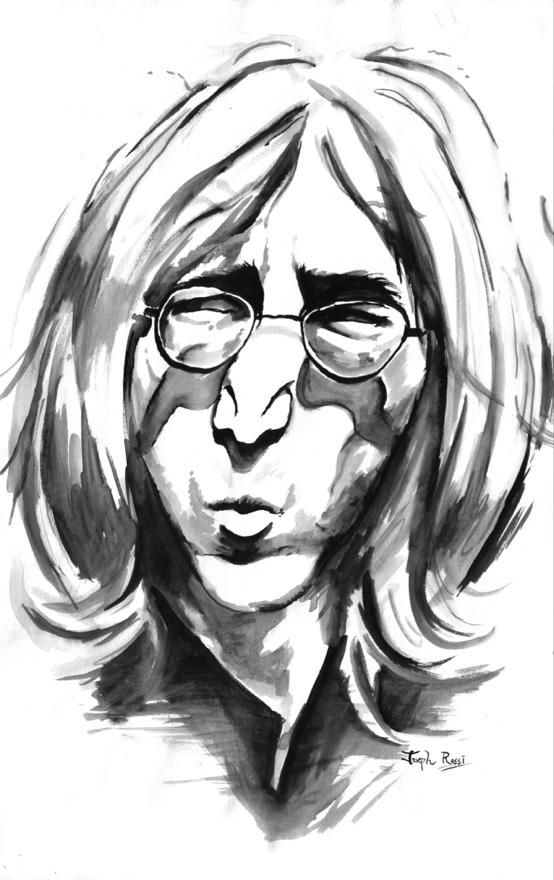 Lennon by jlrossi