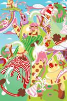 Mayhem in Candyland by photoshop-addict28