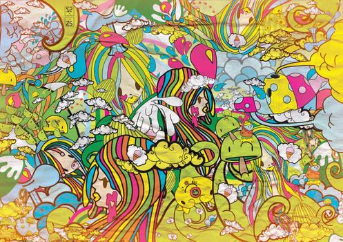 Bubble  Gum  Chaotic  Landscap