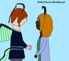 Kaito and Smantha by Bindies50