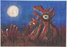 Habitant Organique De La Nuit