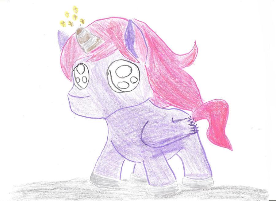 Chibi Pegacorn (Happy Birthday Emily!) by Neptunes-Sparks