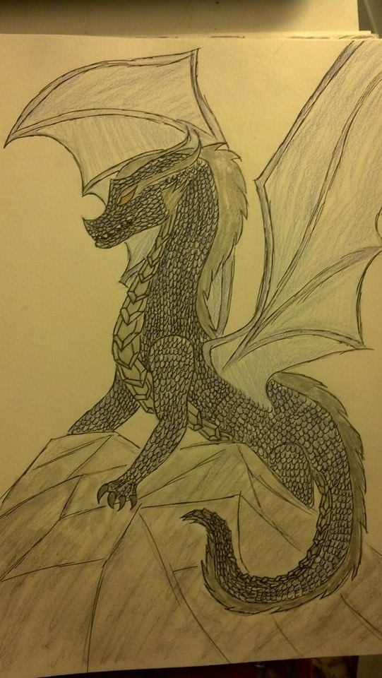 Dragon King by Neptunes-Sparks