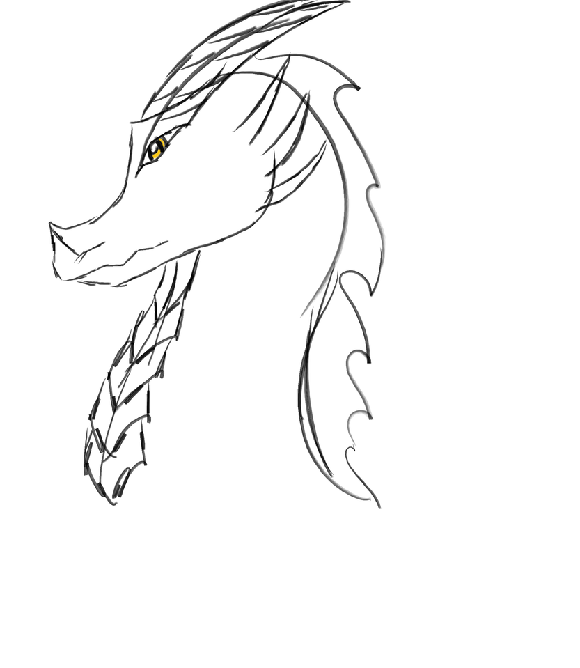 3rd Tablet dragon by Neptunes-Sparks