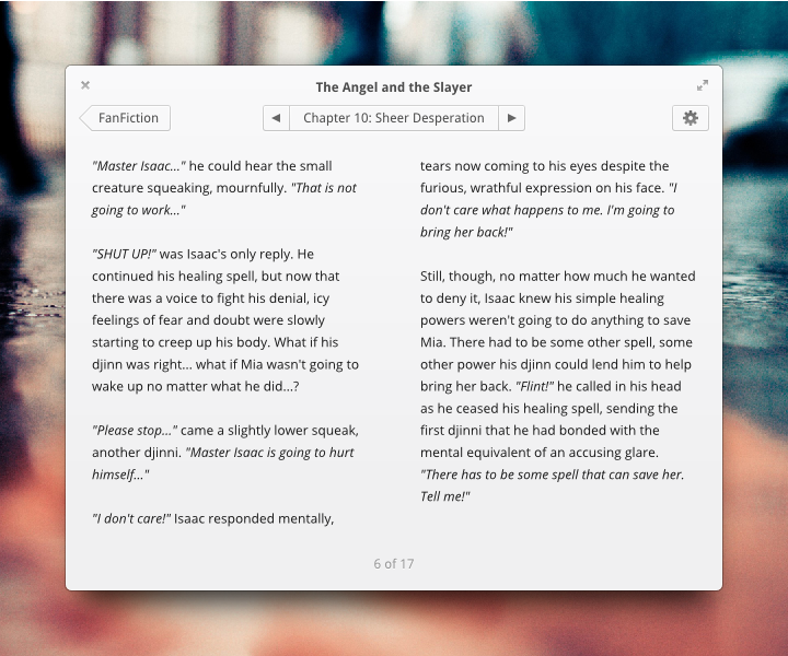 FanFiction.net App by BassUltra