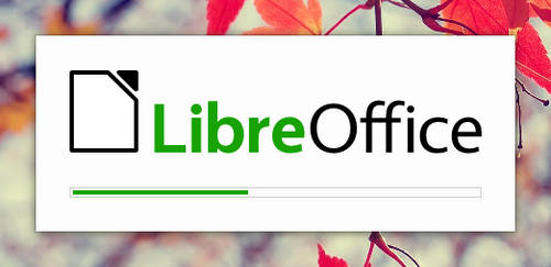 LibreOffice Splash Screen