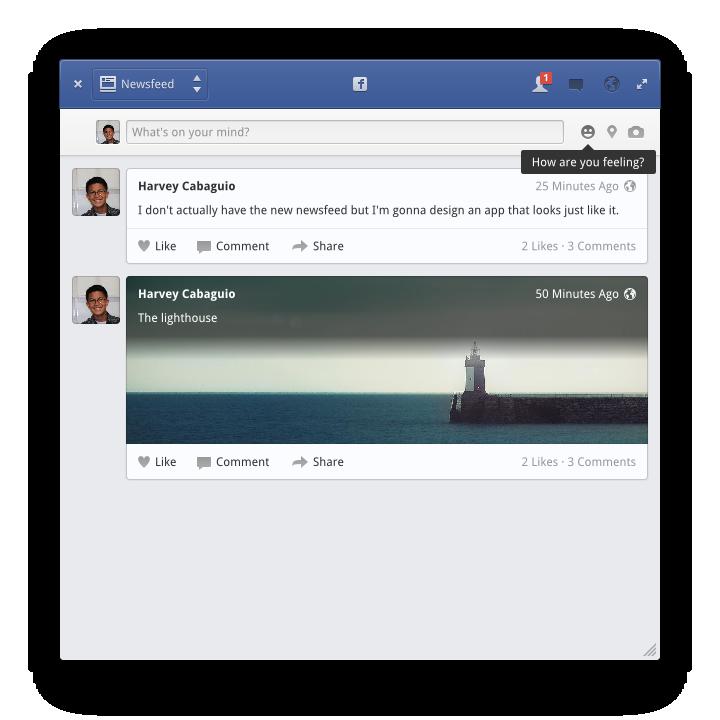 Facebook App by BassUltra