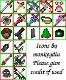 Rmxp Icon sheet 01 by monkeydlu