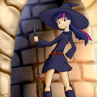 Kallisti III Request: Twi X Little Witch Academia by AI-battle-programer