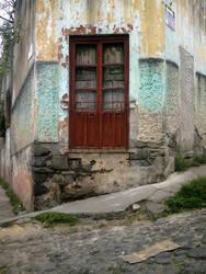 Puerta roja by Nahual-totonaca