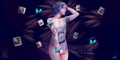 Chloe [life is strange fanart] by MermaidOnStilts