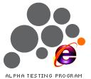 me.dium IE7 Alpha Test Logo by BrassHeart