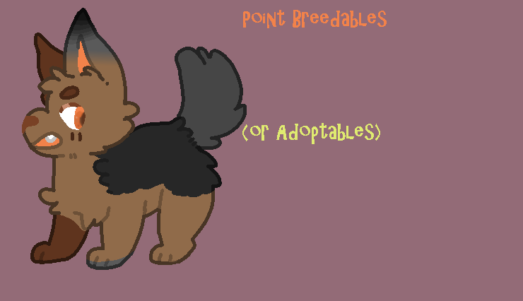 Breedables (And adoptable if one wishes) OPEN! by TechnoSchnauzer