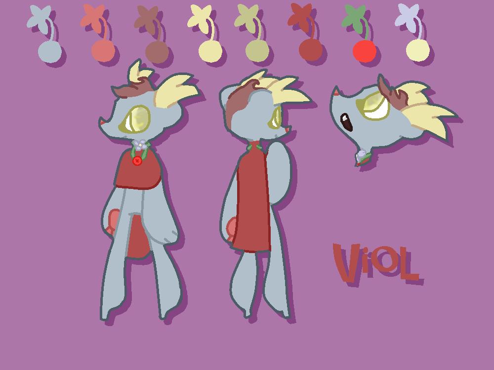 [MYO Lelicreatures   Lelipin] Viol by TechnoSchnauzer