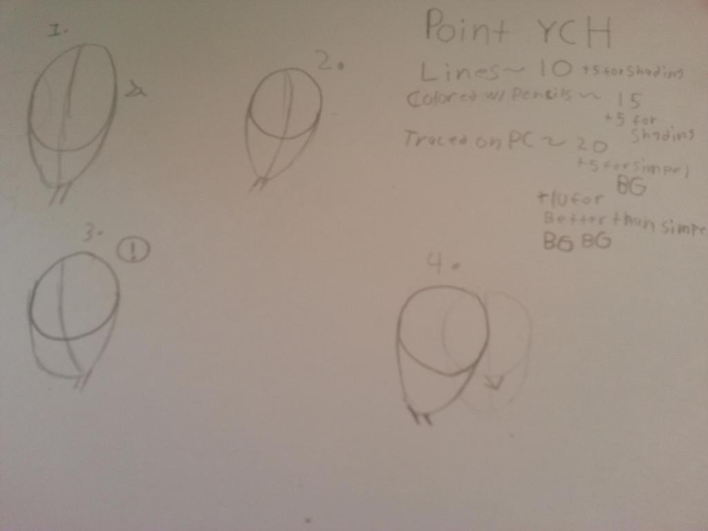 POINT YCHs by TechnoSchnauzer