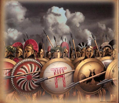Greeks Warriors by saudi6666