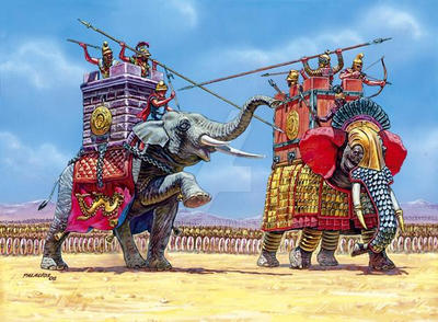 Greeks War Elephant by saudi6666