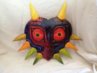 Majora's mask by TheAngryMaskSalesman