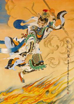 Monkey King painting