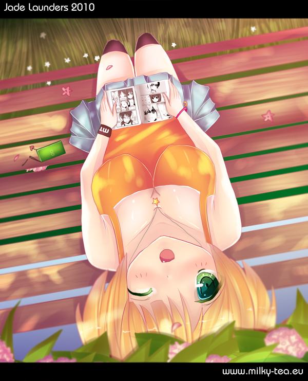 I Heart Manga by JadeLaunders