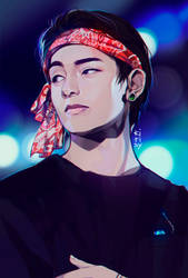 BTS TAEHYUNG by Kirisy