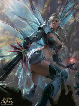 Legend of the Cryptids-Fairy Marshall