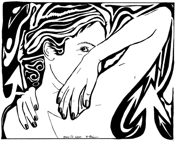 Maze of Beauty by ink-blot-mazes