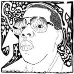 Jay-Z Maze Portrait