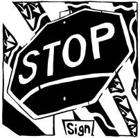 Stop Sign Maze by ink-blot-mazes