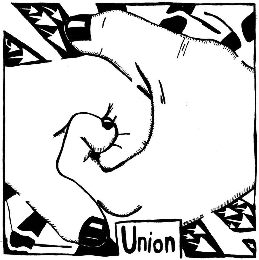 Union Maze - Maze of hands.