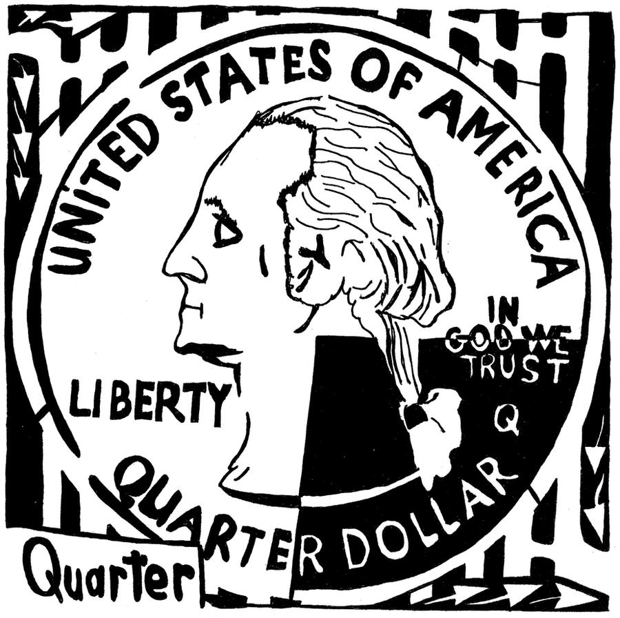 Quarter Maze by ink-blot-mazes