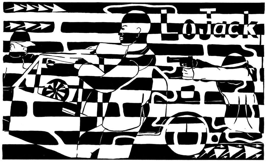 Car Jacking Maze for LoJack Ad