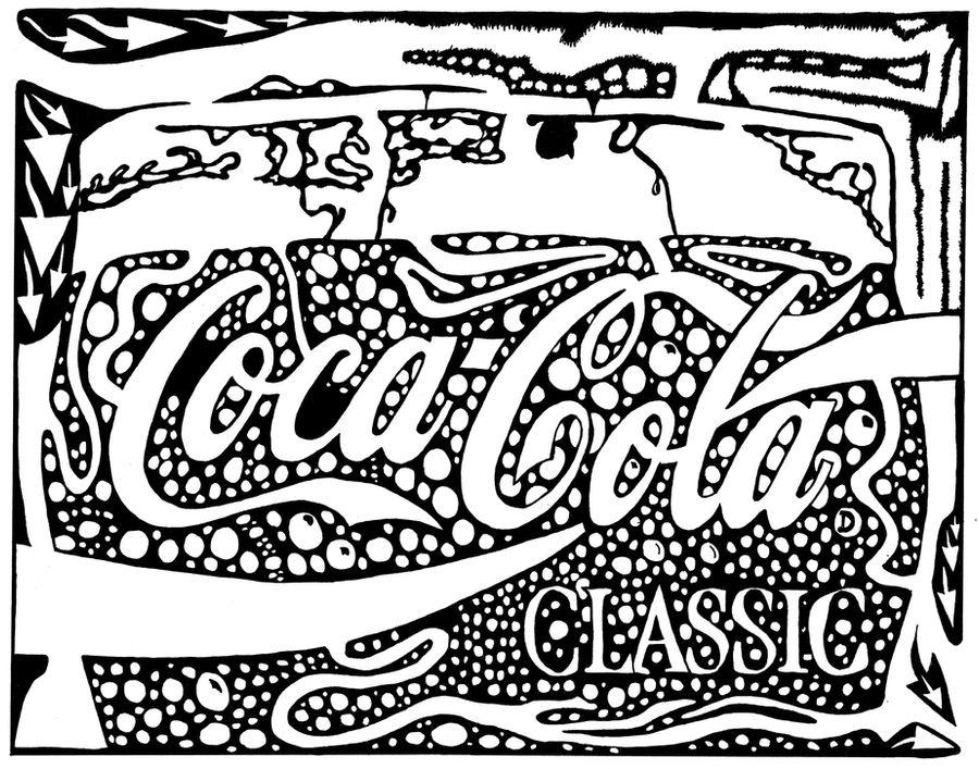 Coca-Cola Maze Ad sample