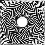 Psychedelic Swirly Maze