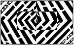 Maze of an Optical Illusion