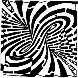 Mobius Maze by ink-blot-mazes